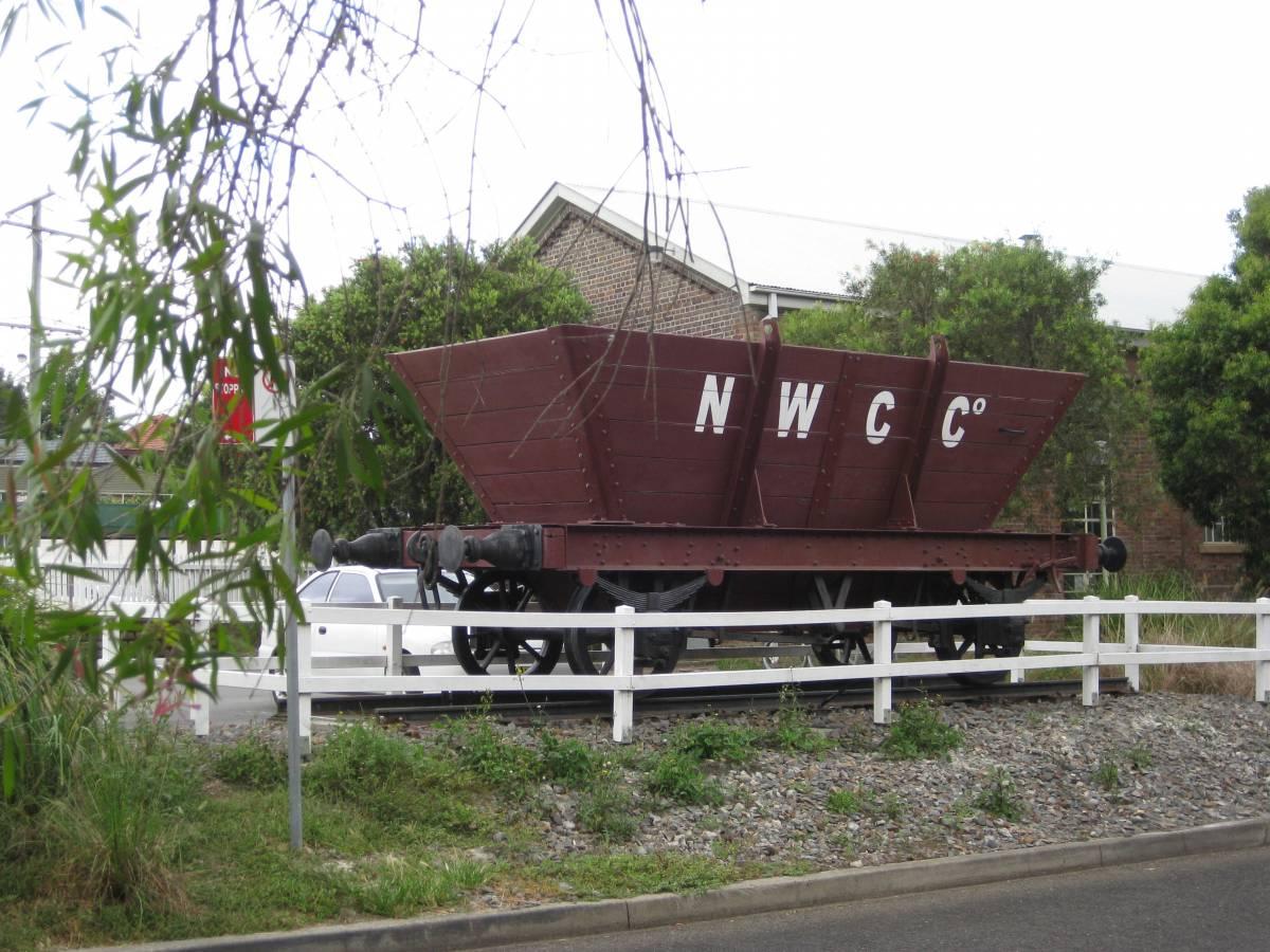 Some railway memorabilia Wallsend (2012)