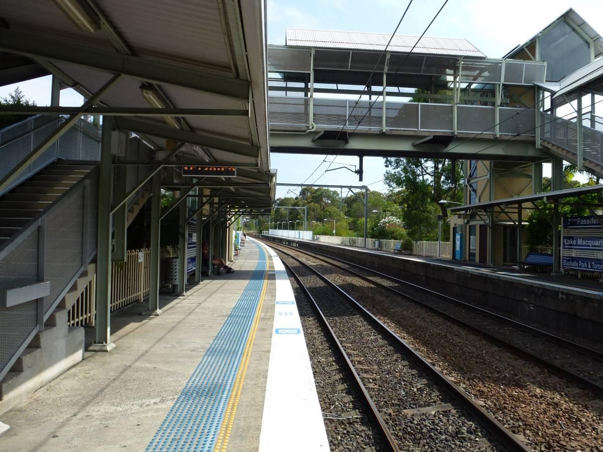 Fassifern Railway Station (2013)