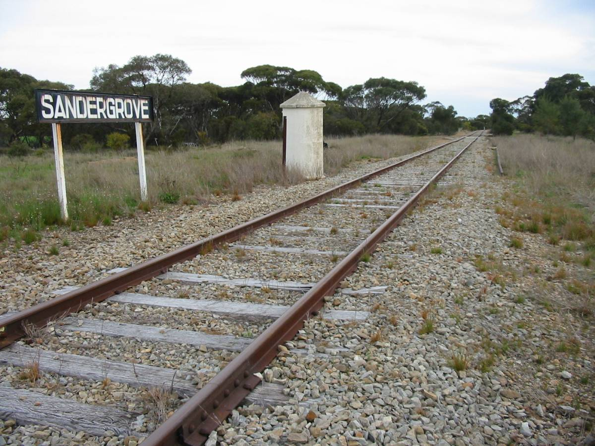 Site of Sandergrove Railway Station (2006)