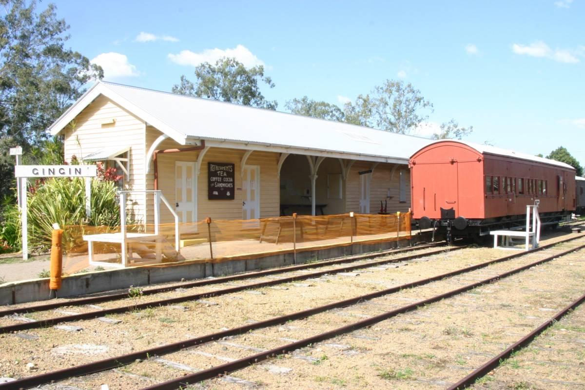 Gin Gin station area (2007)