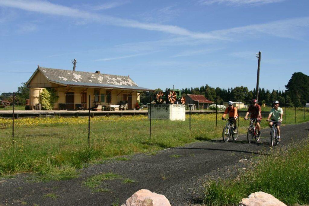 The Pioneer Rail Trail Oberon