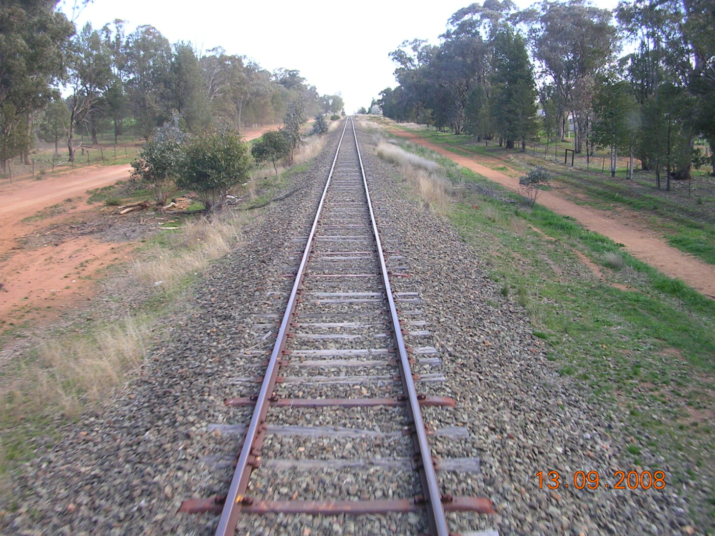 Track out of Cowra