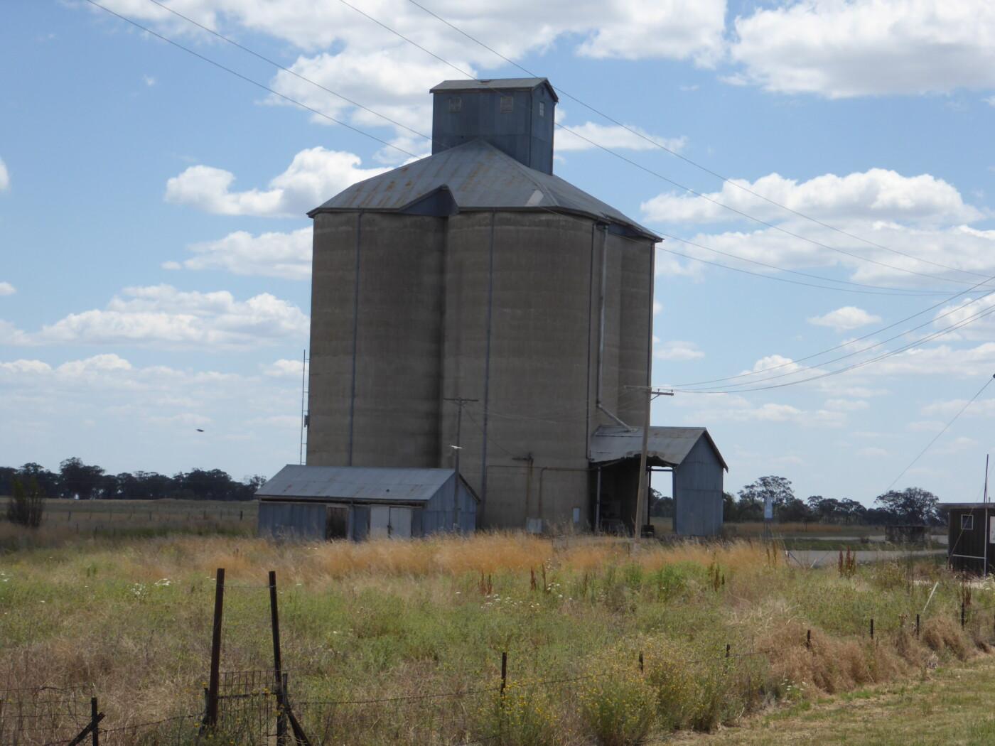 Delungra grain silos