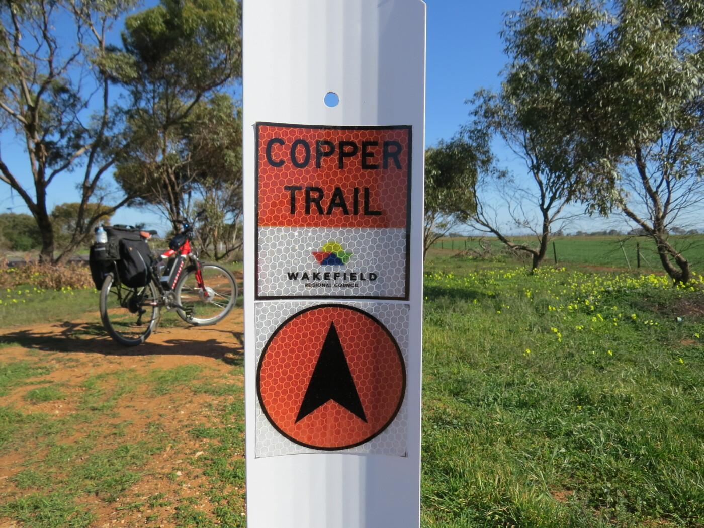 trail distance marker