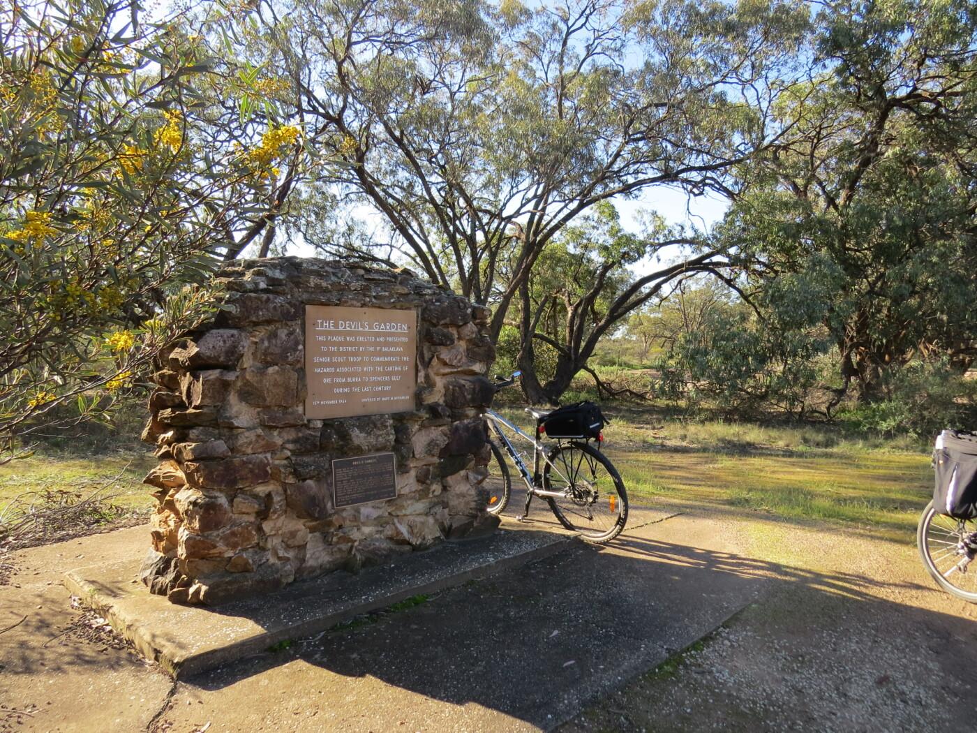Devil's Garden monument