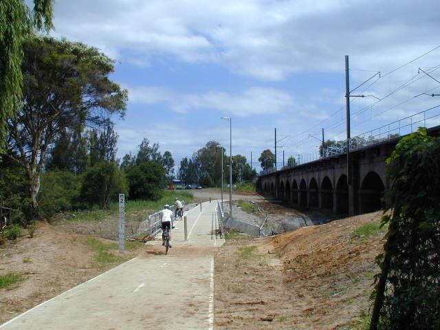 Parramatta to Liverpool Railside Trail