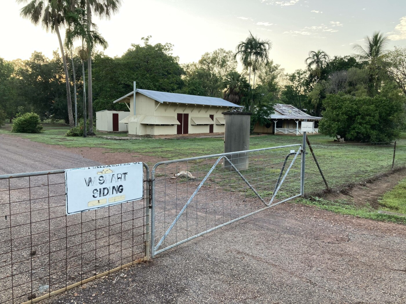 Wishart siding Fettler's huts (2020-10)