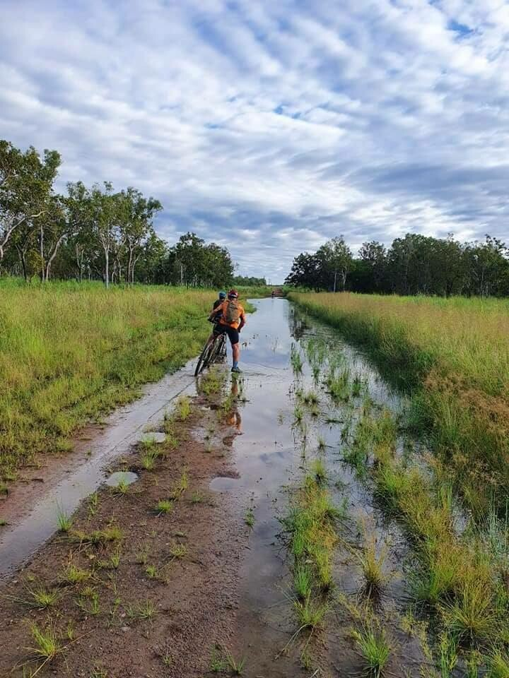 Some parts are completely inundated during the Wet season and dry out around May.  (2020-10)