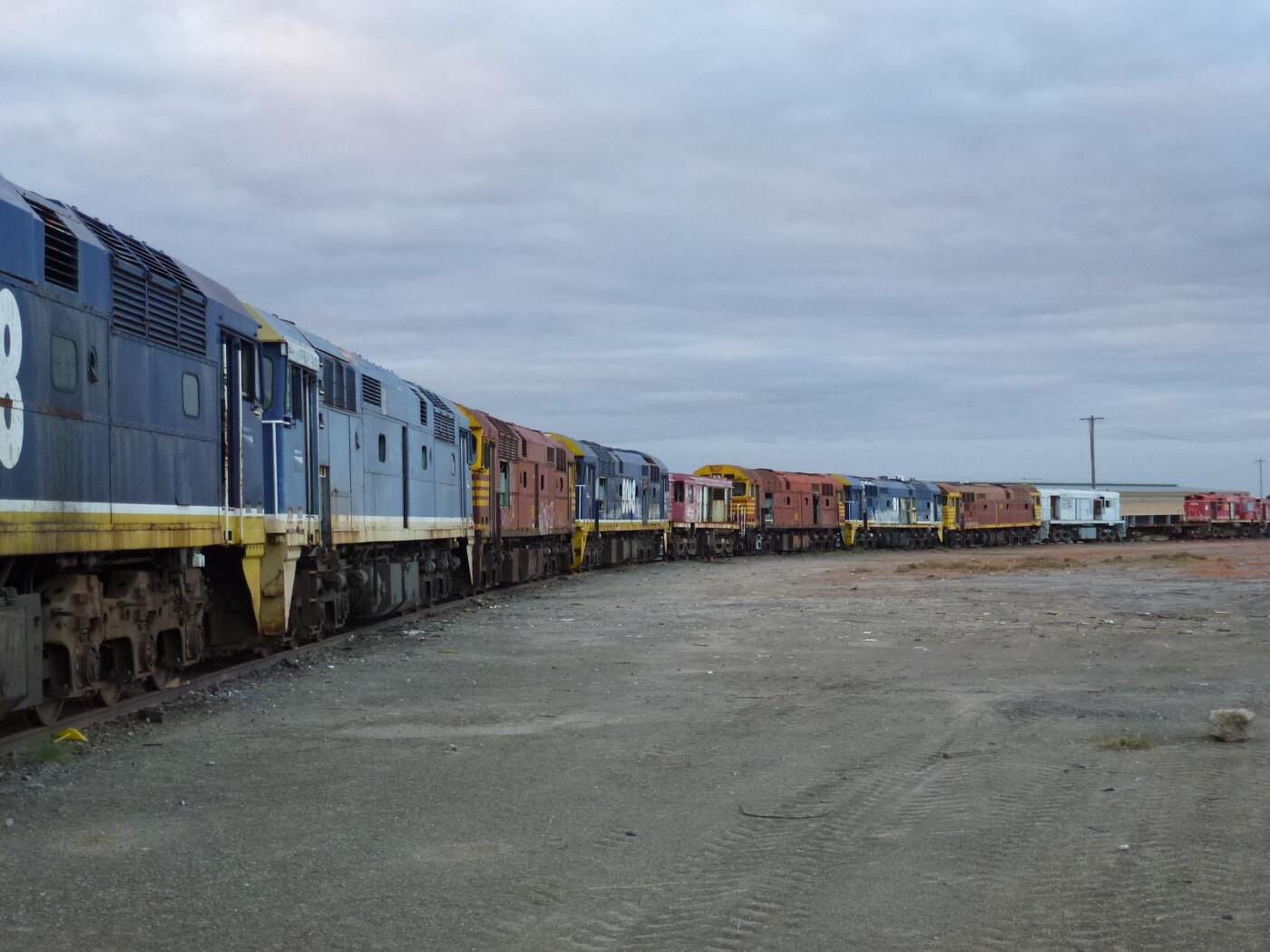 Broken Hill yard