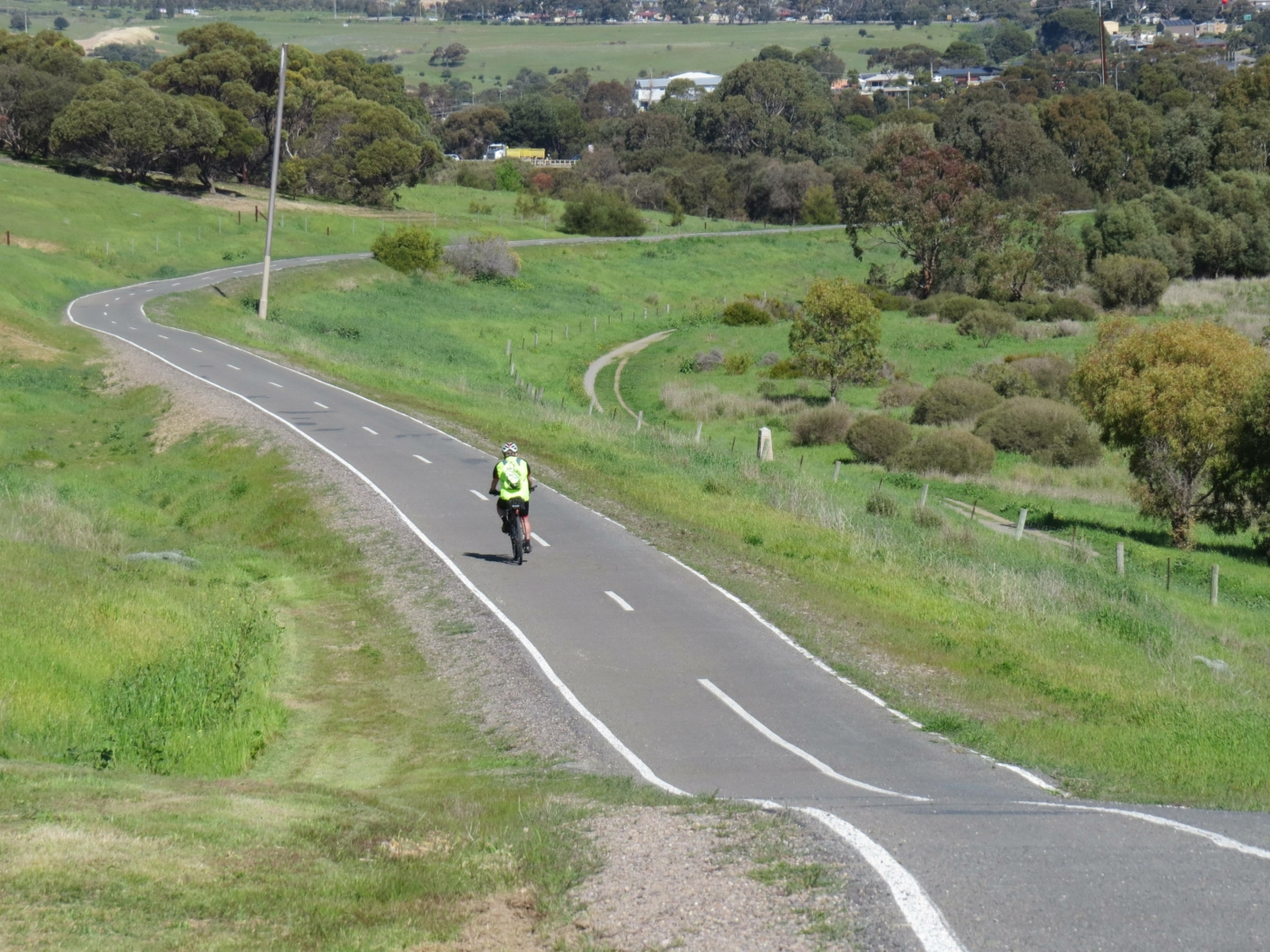 the approach to the Onkaparinga River 2020