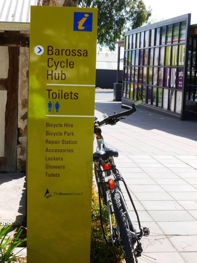 Barossa Cycle Hub at Tanunda