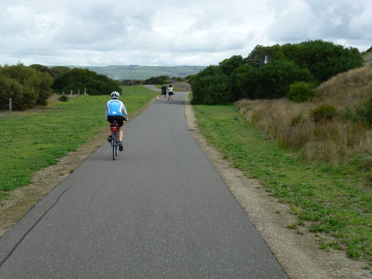 Between Goolwa and Middleton