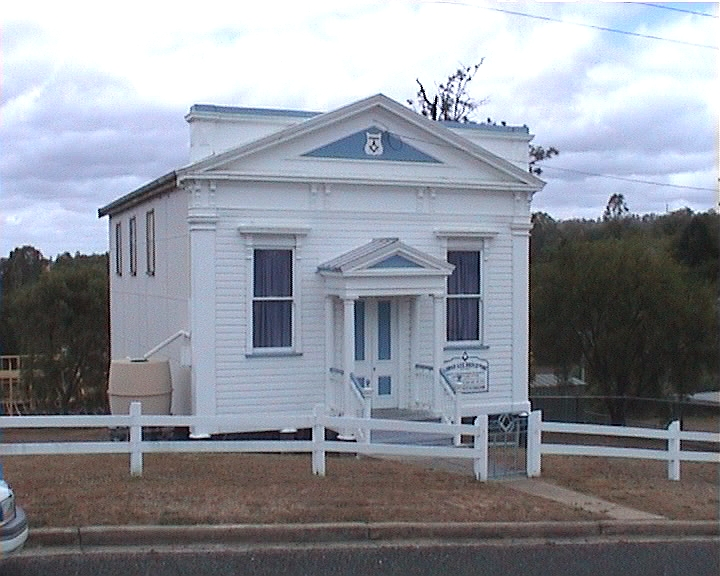 The Masonic Lodge in Mt Perry (2005)