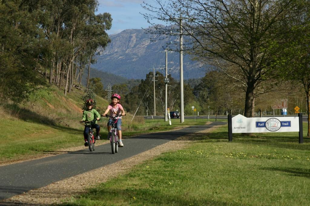 North East Victorian Rail Trail Road Crossing Improvements
