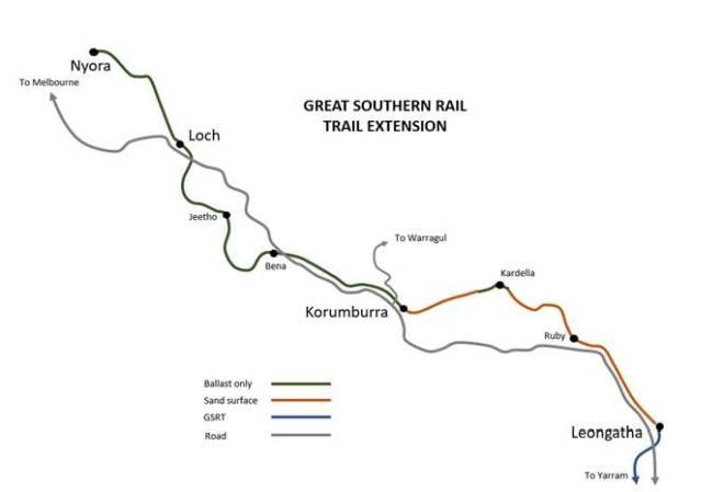 Map of GSRT