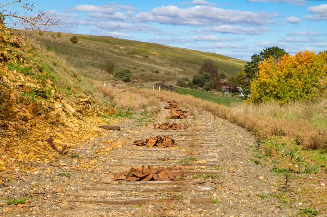 Castlemaine  Maryborough Rail Trail is one small step closer