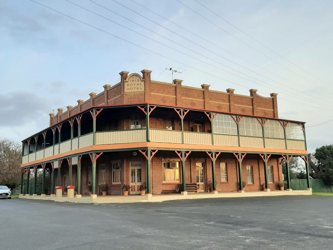 Royal Hotel building, Galong - now a private residence
