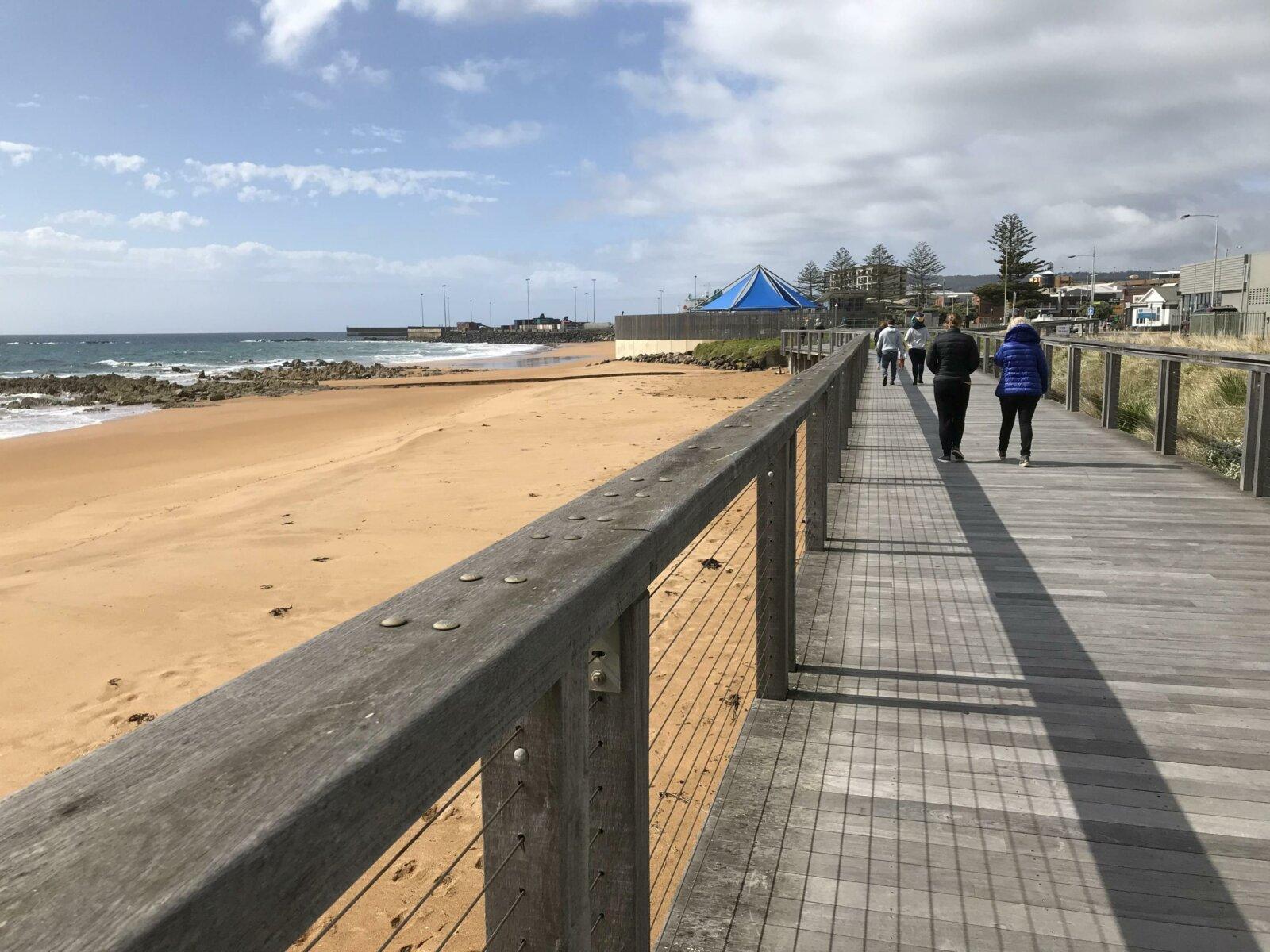 Boardwalk at Burnie