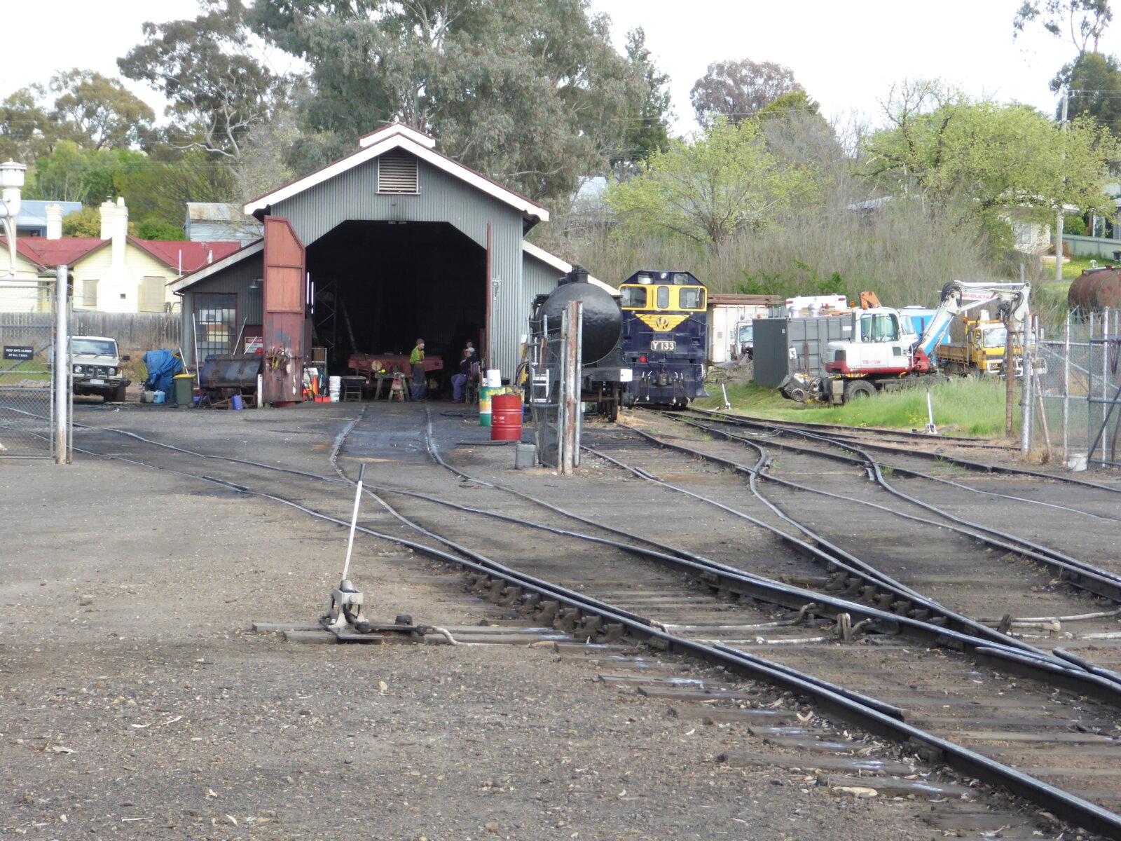 Maldon Rail yards