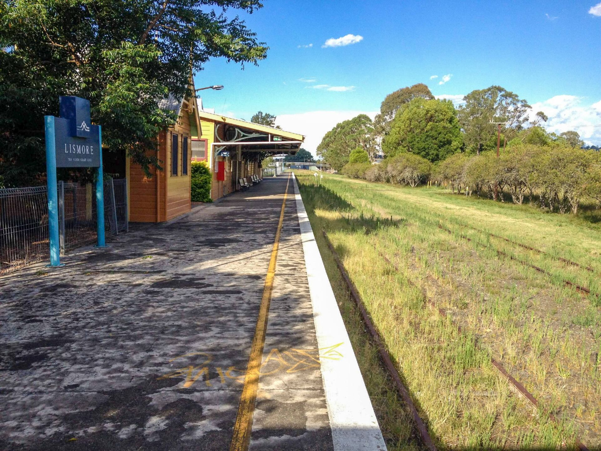 LIsmore Station will once again become a part of community life. (2013)